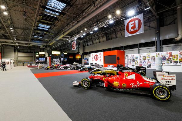 Autosport International Exhibition. National Exhibition Centre, Birmingham, UK. Sunday 14th January, 2018. The F1 Racing Stand. World Copyright: Joe Portlock/LAT Images Ref: _U9I1468