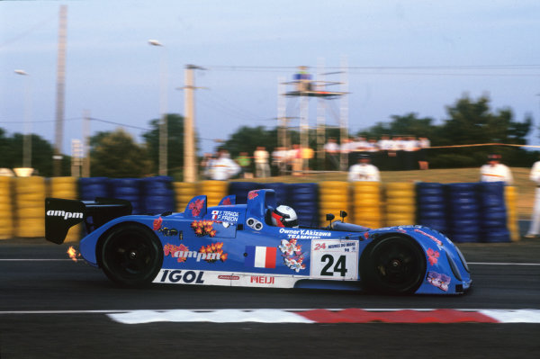 Le Mans, France. 6th - 7th June 1998.Yojiro Terada/Franck Freon/Olivier Thevenin (Courage C41 Porsche), 15th position, action. World Copyright: LAT Photographic.Ref: 98LM15.