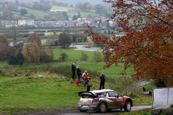 Round 13 - Wales Rally GB. 10th-13th November 2011. Petter Solberg, Citroen, ActionWorldwide Copyright: McKlein/LAT