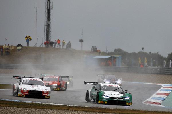 Marco Wittmann, BMW Team RMG, BMW M4 DTM, René Rast, Audi Sport Team Rosberg, Audi RS 5 DTM.