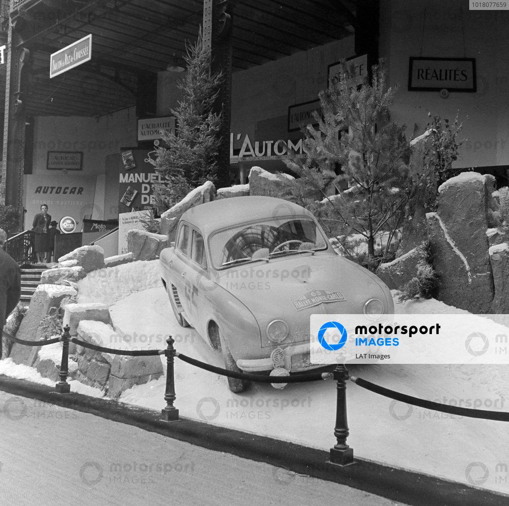 Renault Dauphine (1958 Monte Carlo Rally winner)