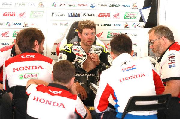 Cal Crutchlow, Team LCR Honda.