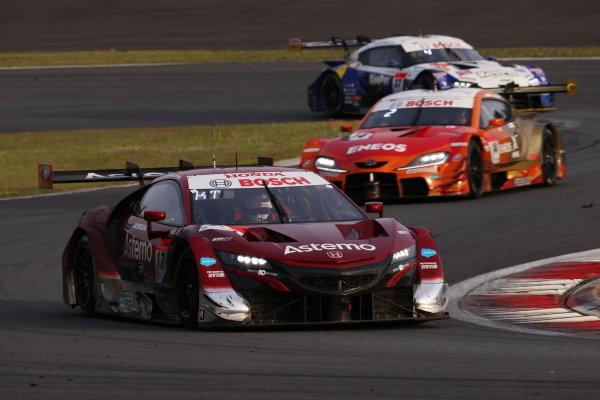 GT500 Winner Koudai Tsukakoshi & Bertrand Baguette, Astemo Honda NSX-GT