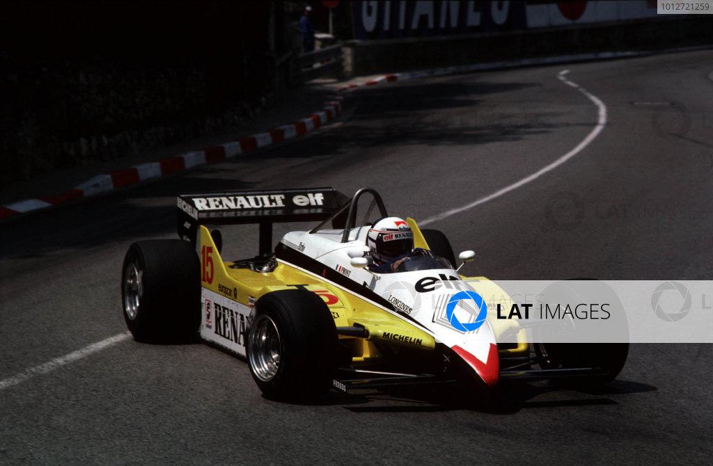1982 Monaco Grand Prix.