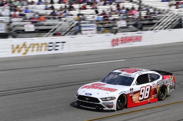 #98: Riley Herbst, Stewart-Haas Racing, Ford Mustang Go Bowling