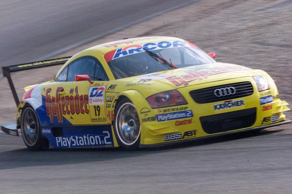 2001 DTM ChampionshipZandvoort, Holland. 22nd - 23rd September 2001.Laurent Aiello (Abt Sportline Audi TT-R), action.World Copyright: Tingle/LAT Photographicref: 5 5mb Digital Image Only