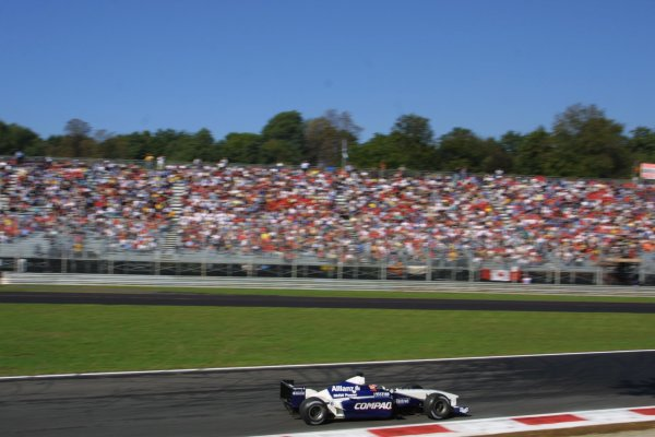 2001 Italian Grand Prix - Saturday / Qualifying