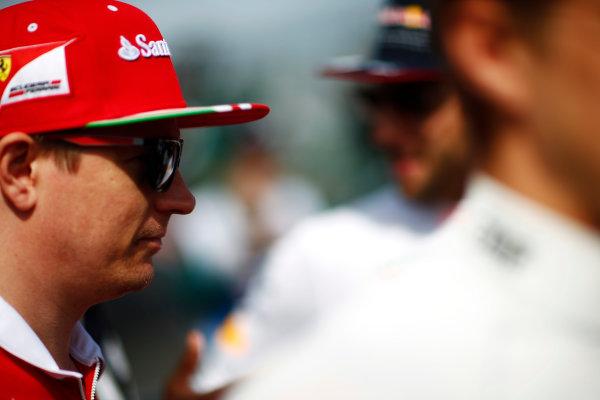 Albert Park, Melbourne, Australia. Sunday 26 March 2017. Kimi Raikkonen, Ferrari. World Copyright: Andy Hone/LAT Images ref: Digital Image _ONY2244