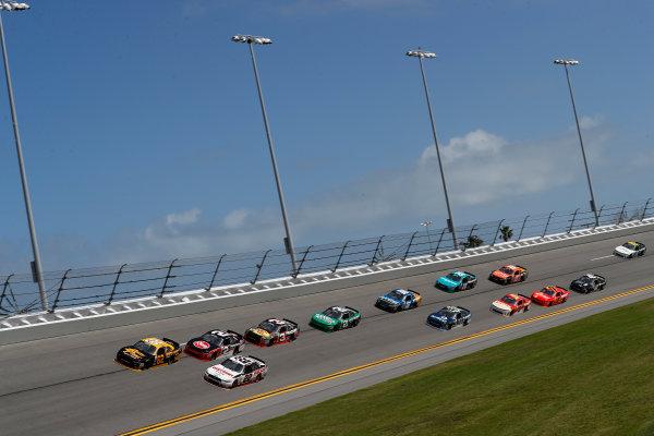 2017 Xfinity - Powershares QQQ 300 Daytona International Speedway, Daytona Beach, FL USA Friday 24 February 2017 Brendan Gaughan, Brad Keselowski World Copyright: Michael L. Levitt/LAT Images ref: Digital Image levitt-0217-D500_22838