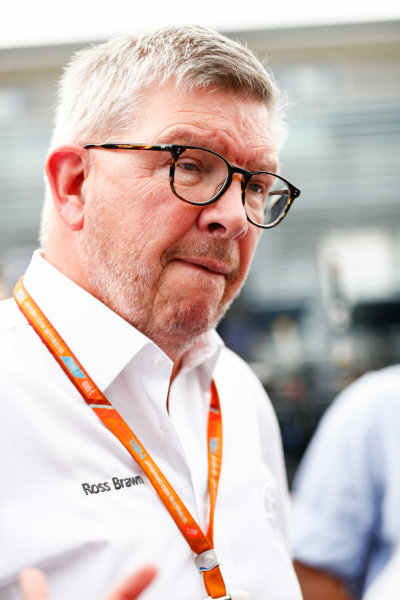 Autodromo Nazionale di Monza, Italy. Thursday 31 August 2017 Ross Brawn. Photo: Sam Bloxham/FIA Formula 2 ref: Digital Image _J6I1965