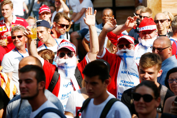 Autodromo Nazionale di Monza, Italy. Friday 01 September 2017. The atmosphere in the F1 Fanzone. World Copyright: Andy Hone/LAT Images  ref: Digital Image _ONY5950