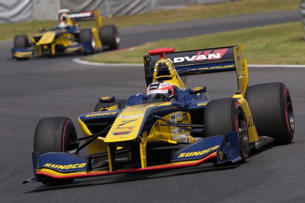2017 Japanese Super Formula. Autopolis, Japan. 8th - 9th September 2017. Rd 5. 2nd position Felix Rosenqvist ( #7 SUNOCO TEAM LEMANS SF14 ) action World Copyright: Masahide Kamio / LAT Images 2017_SF_Rd5_010