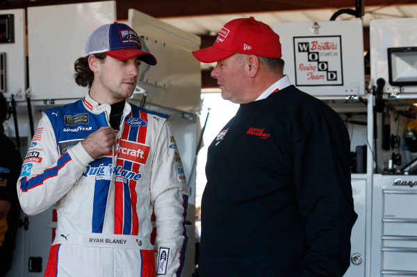 Monster Energy NASCAR Cup Series Federated Auto Parts 400 Richmond Raceway, Richmond, VA USA Friday 8 September 2017 Ryan Blaney, Wood Brothers Racing, Motorcraft/Quick Lane Tire & Auto Center Ford Fusion World Copyright: Matthew T. Thacker LAT Images