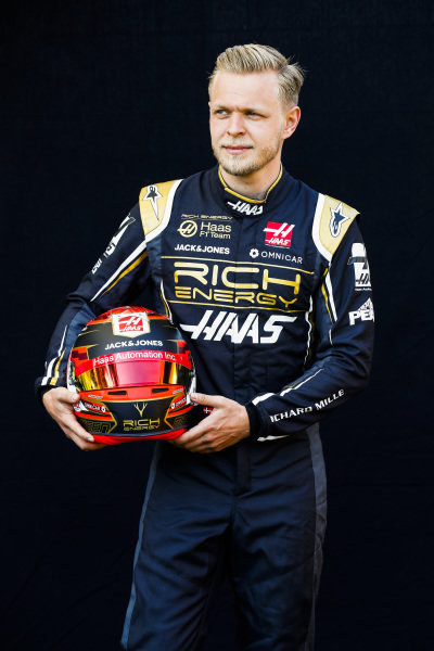 Official Portrait of Kevin Magnussen, Haas F1