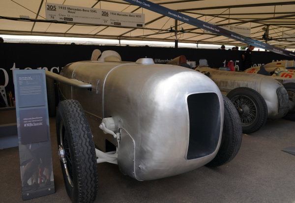 1932 Mercedes-Benz SSKL 'Avus'.