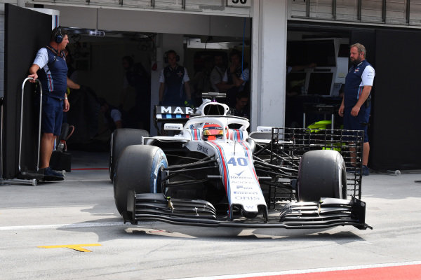 Robert Kubica (POL) Williams FW41