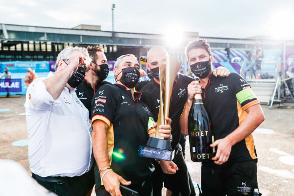 DS Techeetah team celebrate