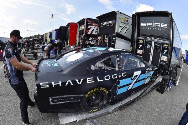 #7: Corey LaJoie, Spire Motorsports, Chevrolet Camaro Shavelogic