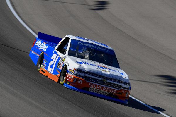 #21: Johnny Sauter, GMS Racing, Chevrolet Silverado Allegiant