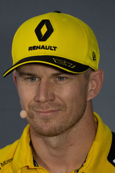 Nico Hulkenberg, Renault F1 Team in thePress Conference