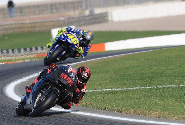 Jorge Lorenzo, Repsol Honda Team, Valentino Rossi, Yamaha Factory Racing.