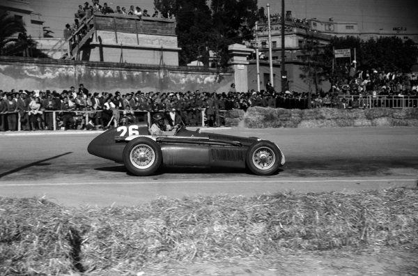 Emanuel de Graffenried, Alfa Romeo 159.
