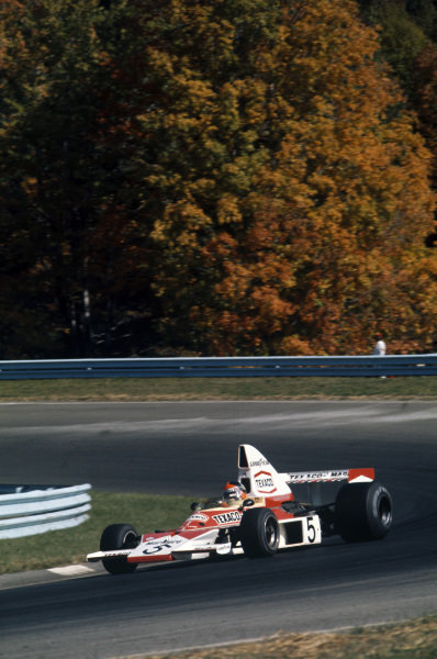 Emerson Fittipaldi, McLaren M23 Ford.