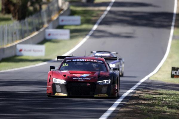 #2 Audi Sport Team Valvoline Audi R8 LMS: Christopher Mies, Christopher Haase, Markus Winkelhock.