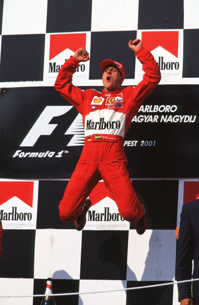 2001 Hungarian Grand Prix.