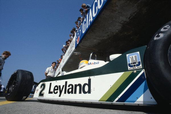 1981 Austrian Grand Prix.Osterreichring, Zeltweg, Austria.14-16 August 1981.Carlos Reutemann (Williams FW07C Ford).Ref-81 AUT 13.World Copyright - LAT Photographic