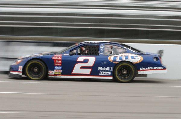 2002 NASCAR,Martinsville Speedway,Virginia,USA,Old Dominion 500, October 18-20, 2002 USA-Rusty wallace speed blur,Copyright-Robt LeSieur2002LAT Photographic
