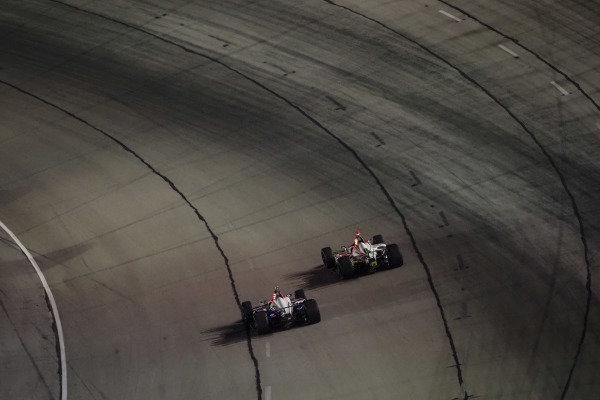Simon Pagenaud, Team Penske Chevrolet, Colton Herta, Harding Steinbrenner Racing Honda