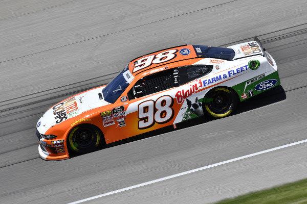 #98: Chase Briscoe, Stewart-Haas Racing, Ford Mustang Nutri Chomps/Blain's Farm & Fleet
