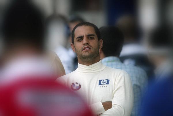 2004 Italian Grand Prix - Friday Practice, Monza, Italy. 10th September 2004 Juan Pablo Montoya, WilliamsF1 BMW FW26, portrait.World Copyright: Steve Etherington/LAT Photographic ref: Digital Image Only