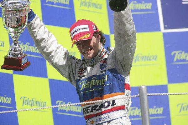 2007 GP2 Series. Round 2. Sunday RaceBarcelona, Spain. 13th May 2007. Javier Villa (ESP, Racing Engineering). World Copyright: Andrew Ferraro/GP2 Series Media Sevice  ref: Digital Image ZP9O7196
