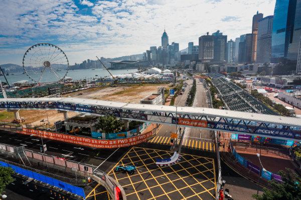2017/2018 FIA Formula E Championship. Round 1 - Hong Kong, China. Saturday 02 December 2017. Andre Lotterer (BEL), TECHEETAH, Renault Z.E. 17. Photo: Alastair Staley/LAT/Formula E ref: Digital Image _ALS5562