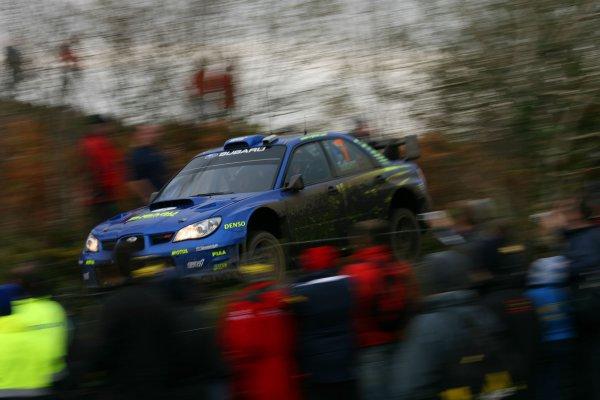 2007 World Rally ChampionshipRally Ireland 15th-18th November 2007,Petter Solberg, Subaru, ActionWorld Copyright: McKlein/LAT
