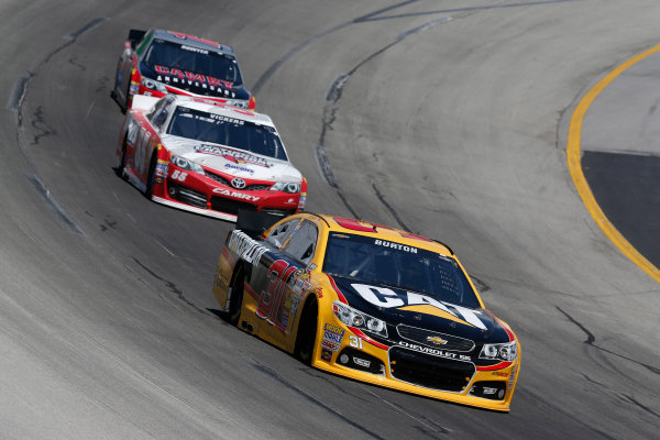 Jeff Burton, Brian Vickers NASCAR Photos