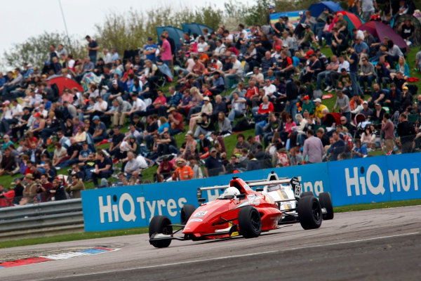 2013 British Formula Ford Championship, Thruxton, Hampshire, 4th and 5th May 2013, Juan Rosso (ARG) Jamun Racing Formula Ford 200 World Copyright. Jakob Ebrey/LAT Photographic