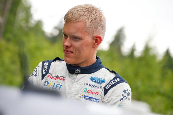 2017 FIA World Rally Championship, Round 09, Rally Finland / July 27 - 30, 2017, Ott Tanak, Ford WRC, Portrait Worldwide Copyright: McKlein/LAT