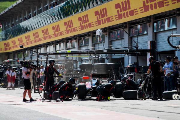 2017 FIA Formula 2 Round 5. Red Bull Ring, Spielberg, Austria. Saturday 8 July 2017. Nobuharu Matsushita (JPN, ART Grand Prix).  Photo: Zak Mauger/FIA Formula 2. ref: Digital Image _56I3117