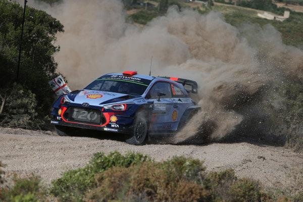 2017 FIA World Rally Championship, Round 07, Rally Italia Sardegna, June 8-11, 2017, Dani Sordo, Hyundai, action Worldwide Copyright: McKlein/LAT