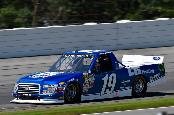 NASCAR Camping World Truck Series Overton's 150 Pocono Raceway, Long Pond, PA USA Saturday 29 July 2017 Austin Cindric, LTi Printing Ford F150 World Copyright: Rusty Jarrett LAT Images