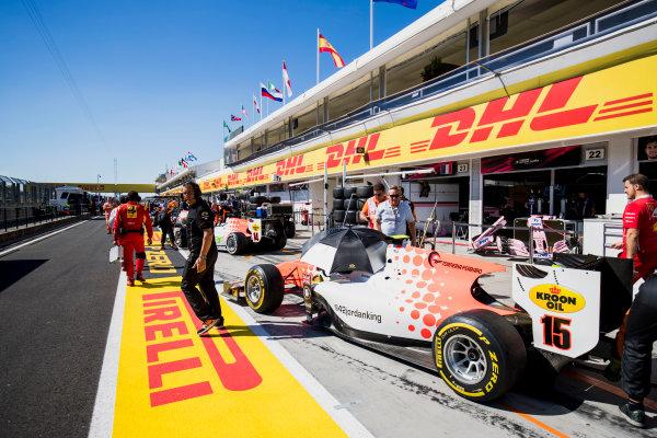 2017 FIA Formula 2 Round 7. Hungaroring, Budapest, Hungary. Saturday 29 July 2017. Jordan King (GBR, MP Motorsport).  Photo: Zak Mauger/FIA Formula 2. ref: Digital Image _56I2919