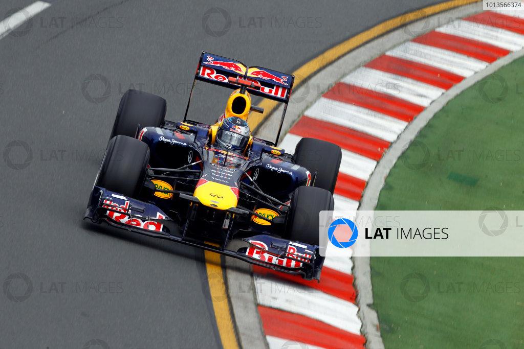Albert Park, Melbourne, Australia25th March 2011.Sebastian Vettel, Red Bull Racing RB7 Renault.World Copyright: Andrew Ferraro/LAT Photographicref: Digital Image _Q0C7770