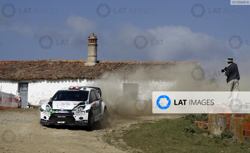 Round 03-Rally Portugal. 23th-27th March 2011, Matthew Wilson, Ford WRC, Action.Worldwide Copyright: McKlein/LAT