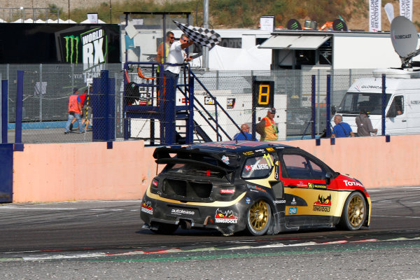 2014 FIA World Rallycross Championship Round 10 Franciacorta, Italy 27th & 28 th September 2014 Petter Solberg, Citroen, action Worldwide LAT / McKlein