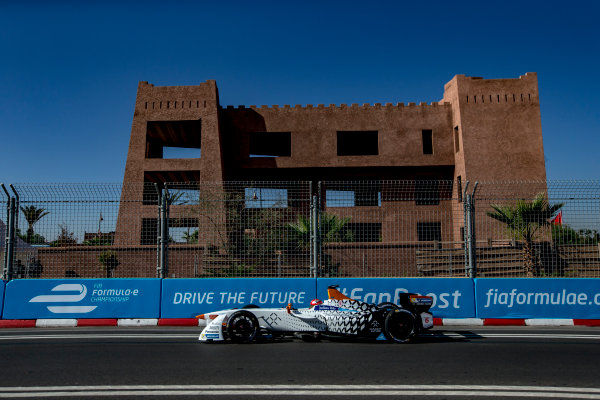 2016/2017 FIA Formula E Championship. Marrakesh ePrix, Circuit International Automobile Moulay El Hassan, Marrakesh, Morocco. Saturday 12 November 2016. Loic Duval (FRA), Dragon Racing, Spark-Penske, Penske 701-EV.  Photo: Zak Mauger/Jaguar Racing ref: Digital Image _X0W5682