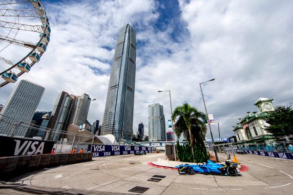 2016/2017 FIA Formula E Championship. Hong Kong ePrix, Hong Kong, China. Sunday 9 October 2016. Nicolas Prost (FRA), Renault e.Dams, Spark-Renault, Renault Z.E 16.  Photo: Zak Mauger/LAT/Formula E ref: Digital Image _L0U1253