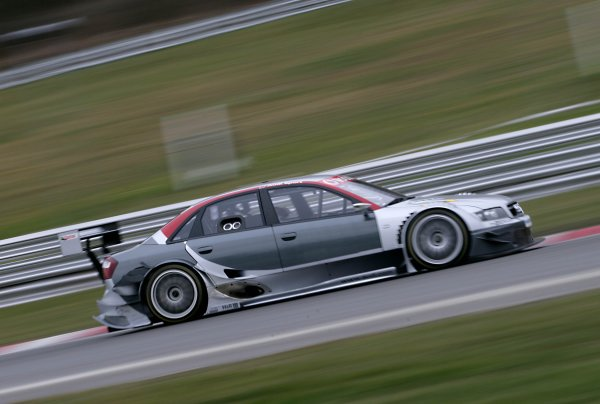 2006 DTM Testing Brands Hatch, England. 20th March 2006. Olivier Tielemans, Team Midland Audi A4 DTM. Action. World Copyright: Gary Hawkins/LAT Photographic ref: Digital Image Only.